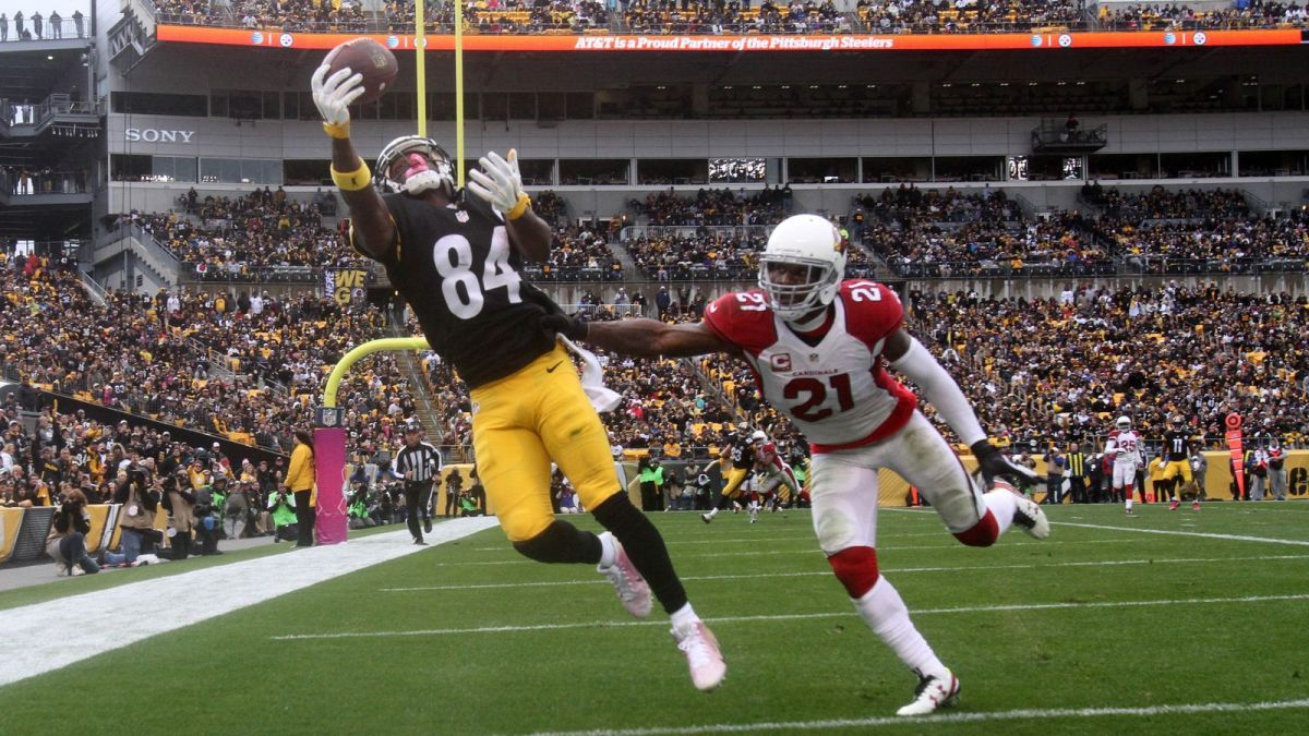 Top 10 Wide Receivers in the NFL 2016-17