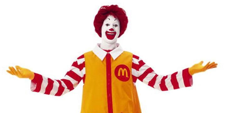 Ronald McDonald Identity Crisis
