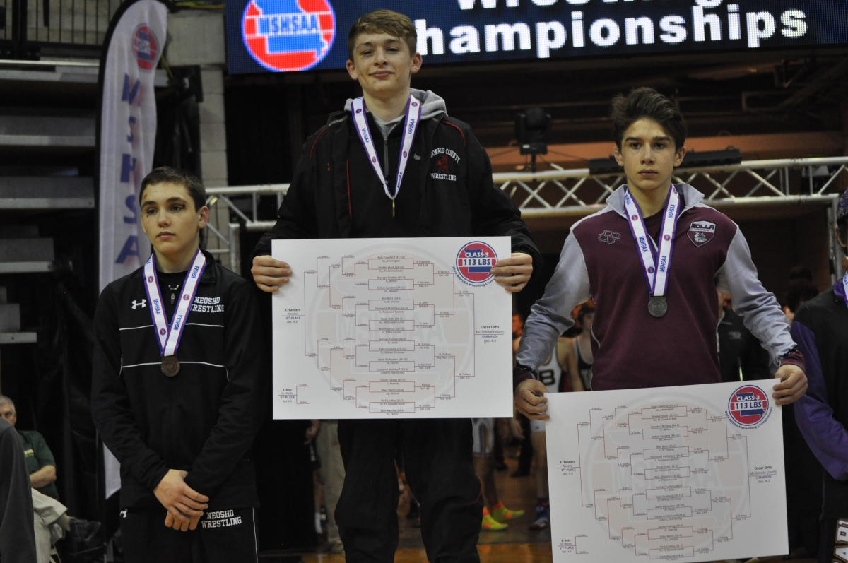 Ortiz Becomes Program's First State Champion