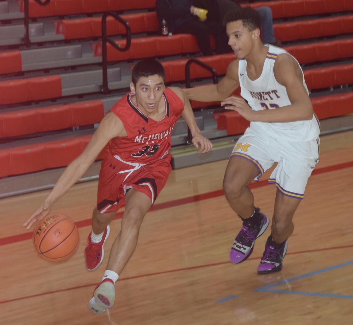 Boys Basketball Advances