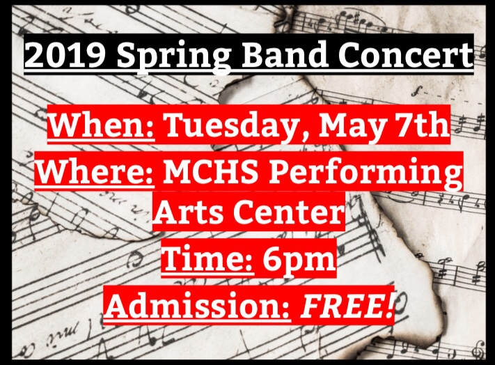 MCHS Spring Band Concert