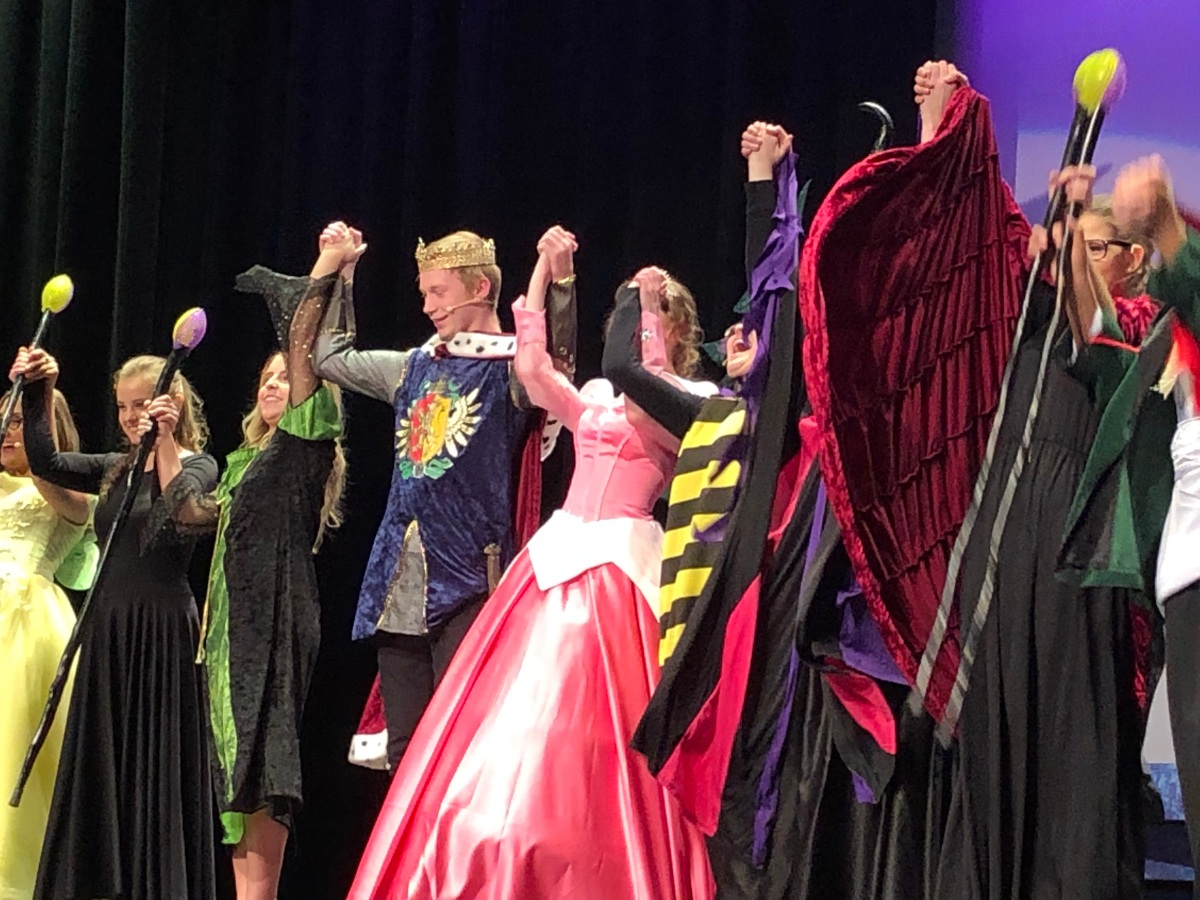 Drama Performs Sleeping Beauty