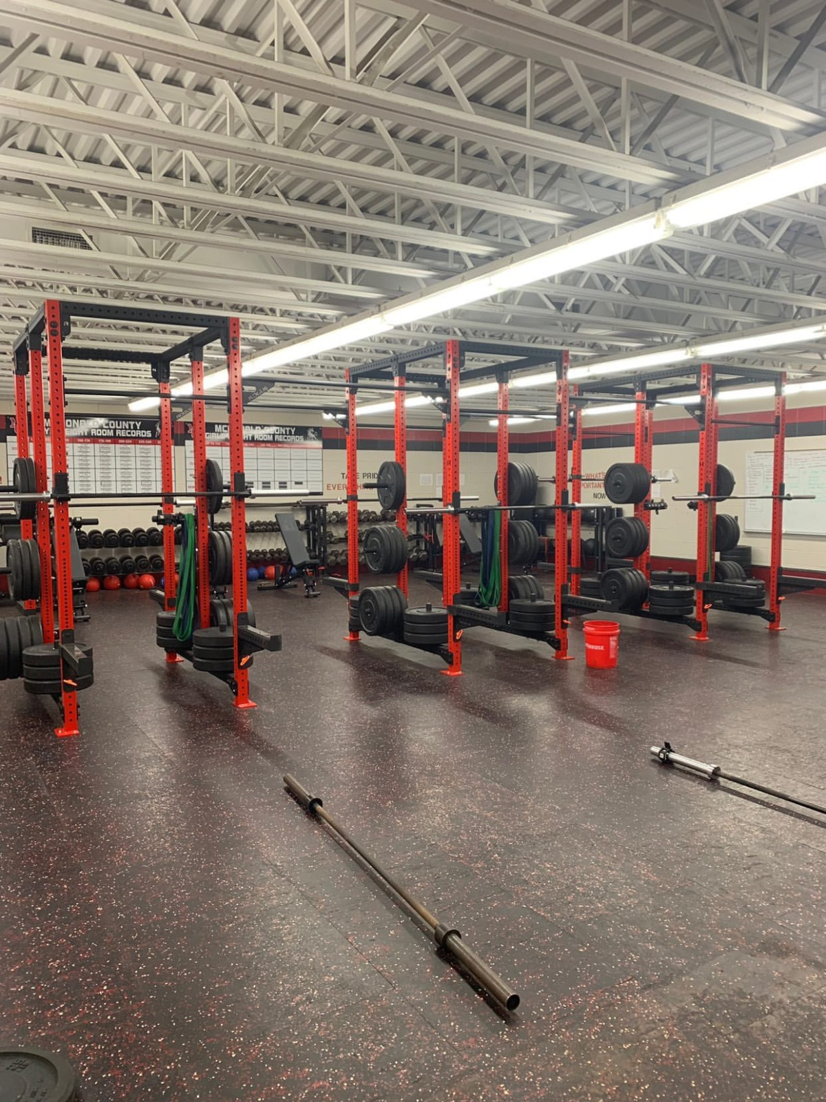 Our Improved Weight Room